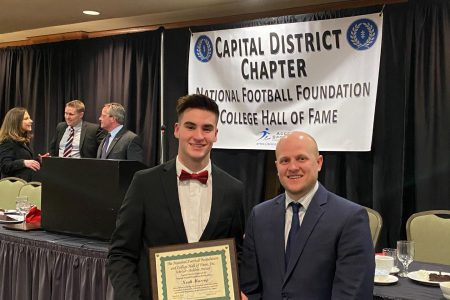 Massey Honored as Football Scholar Athlete