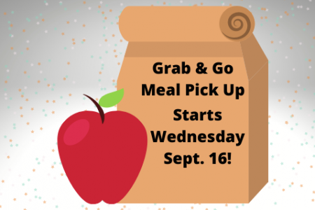 Weekly Grab-And-Go Meal Pick Up Starts September 16!