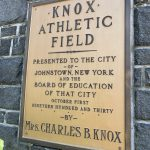Knox Field to be closed at night