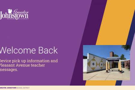 Welcome Back! Device Pick-up Info & Pleasant Ave. Teacher Messages