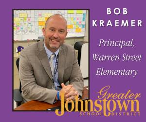 Warren Street Elementary Principal Bob Kraemer