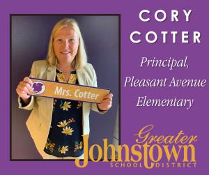 Pleasant Avenue Elementary Principal Cory Cotter