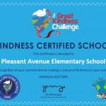 "Pleasant Avenue Named a ""Kindness Certified School!"""